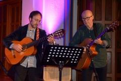Tom Roger Aadland og Dan Bergman